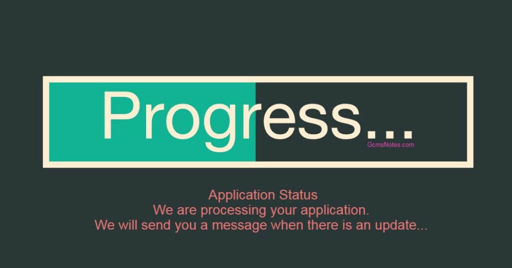 IRCC Progress Bar